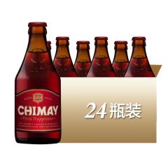 比利时进口智美红帽修道院黑啤酒(CHIMAY)330ml*24
