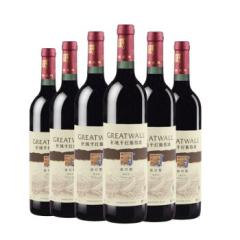中粮长城出口型解百纳干红葡萄酒750ml(6瓶装)