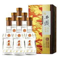 52°西凤酒西凤六年陈酿酒500ml(6瓶装)【新老包装随机发货】