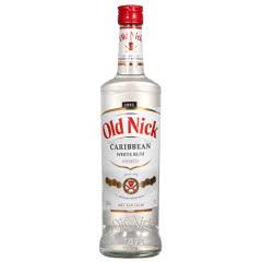 37.5°法国原装进口老尼克 (Old Nick)洋酒白朗姆酒 700mL