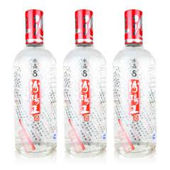 40°汾阳王水晶八年清香型白酒500ml(3瓶装)