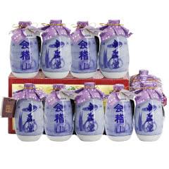11°绍兴黄酒会稽山帝聚堂八年陈酿(12瓶装)
