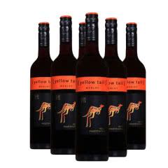 澳大利亚 Yellow Tail 黄尾袋鼠 梅洛红葡萄酒 750ml*6瓶
