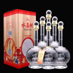 52度杜康白酒浓香型一帆风顺3D帆船送礼白酒500ml(6瓶)