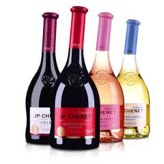 JP.CHENET香奈红酒法国原瓶进口甜酒聚会畅饮4支组合装