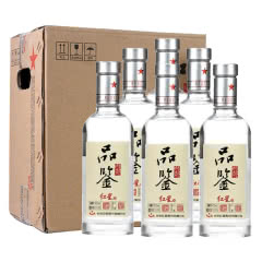 43°北京红星二锅头内部品鉴酒500ml(6瓶装)白酒整箱