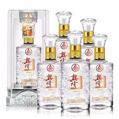 52°五粮液股份水晶盒龙纹瓶 浓香型白酒 婚宴用酒 500ml(6瓶装)