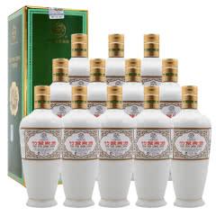融汇陈年老酒 45°牧童盒装瓷瓶竹叶青酒500ml(12瓶装)2012年