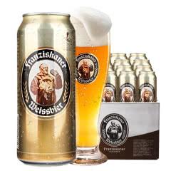 德国风味啤酒范佳乐(教士)小麦白啤酒500ML(24听装)