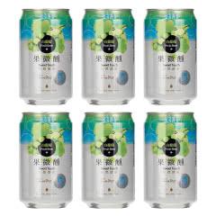 台湾啤酒原装进口果微醺水果味啤酒白葡萄味330ml(6听装)