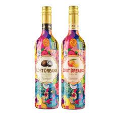 法国茉莉花水果童话(椰子+桃子)风味配制酒750ml(2瓶装)