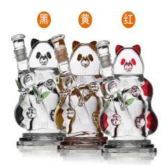 52°五粮液熊猫酒精品浓香型白酒250ml