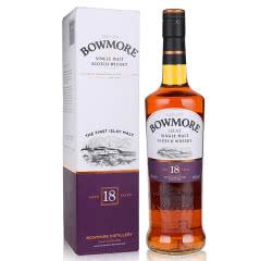 43°英国波摩18年单一麦芽威士忌700ml