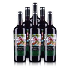 法国(原瓶进口)茉莉花波尔多干红葡萄酒750ml(6瓶装)