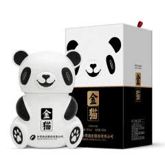 52度 舍得酒业股份有限公司出品 金猫酒 熊猫造型酒 高度浓香型白酒 500ml
