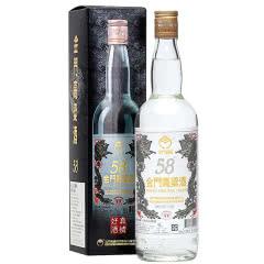 58°金门高粱酒大白金龙纯粮食固态发酵台湾白酒750ml