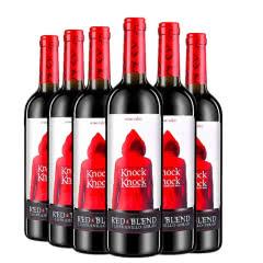 【迈克】西班牙原瓶进口 小红帽干红葡萄酒750ml*6