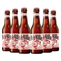 比利时进口果味啤酒 Pinkkiller粉红杀手250ml(6瓶)