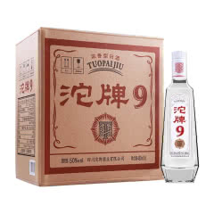 沱牌舍得沱牌T68浓香型白酒50度480ml *6瓶整箱