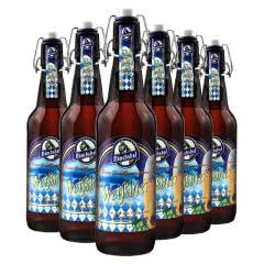5.4度德国原瓶进口猛士啤酒精酿白啤酒500ml(6瓶)