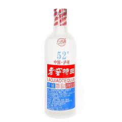 52°四川泸州老窖特曲珍品浓香型500ml单瓶(2014年)