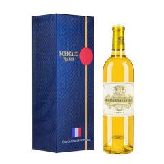 古岱酒庄 法国进口红酒 波尔多左岸列级名庄酒 贵腐甜白葡萄酒750mL 2017年