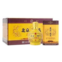 42°北京二锅头 永丰经典 小黄龙瓶 清香型白酒500ml*6瓶整箱装