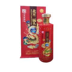 北京二锅头 永丰 京道1163 清香型白酒500ml礼盒装  中国红