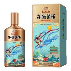 53°贵州茅台集团 茅韵酱酒 精英版 酱香型白酒单瓶500ml