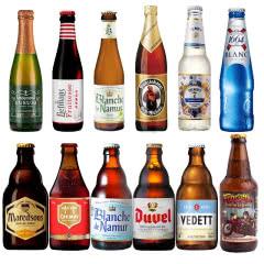 精酿啤酒组合 1664智美督威白熊等啤酒组合12瓶