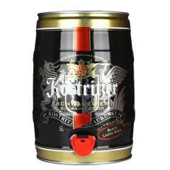 【新包装】德国进口啤酒卡力特纯麦黑啤酒5升装