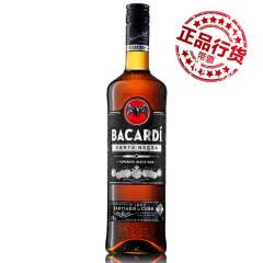 40°波多黎各(BACARDI RUM)百加得黑朗姆酒进口洋酒750ml