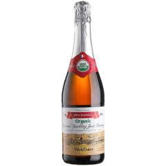 沃迪安无醇无酒精起泡酒法国原瓶进口苹果汁甜型含气果酒750ml单支装 树莓味