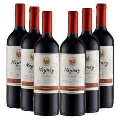 智利进口干露火玫瑰佳美娜红葡萄酒750ml(6瓶装)