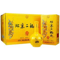 42°北京二锅头 永丰龙印 黄龙 清香型纯粮白酒500ml*6整箱装