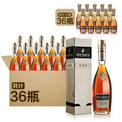 人头马CLUB香槟区优质干邑350ml(36瓶)+40°法国人头马CLUB特级干邑白兰地30ml(36瓶)