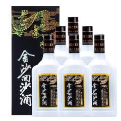 贵州金沙回沙钻石五星53度酱香型500ml*6瓶(整箱装)