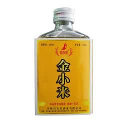 【2017年】42°百吉堂金小米酒原浆小酒版纯粮酒白酒露酒 100ml单瓶装