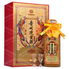 53°贵州迎宾酒五星献礼酱香型白酒500ml*1【单瓶】